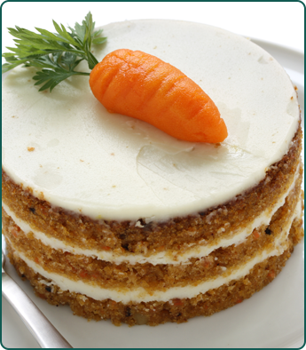 Small Carrot Cakes